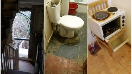 The kinds of conditions Hackney Council is hoping to clamp down on, seen at a privately rented home