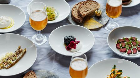 Sample dishes from Douglas McMaster's Silo restaurant. Picture: Matt Russell.