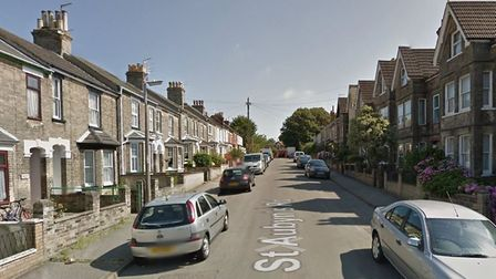 St Aubyn's Road, in Lowestoft, which has been affected by the outages. Picture: Google