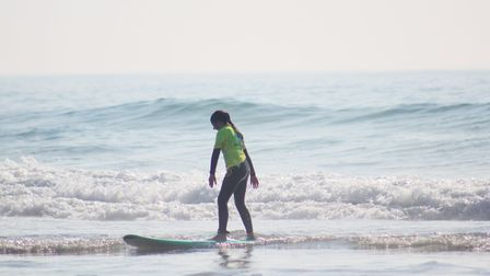 The waves are good for all levels, from beginner to advanced. Picture: iSurf Portugal
