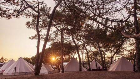 Sunset at the family surf camp. Picture: iSurf Portugal