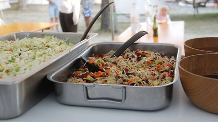 Three healthy meals a day are provided at the camp, so you don't need to worry about cooking. Pictur