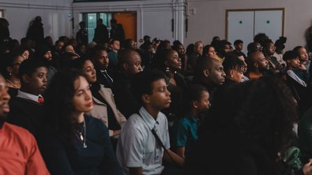 The black history event was sold-out. Picture: Georgiana Chitea