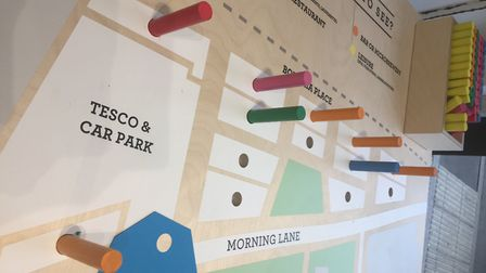 Consulations have been held on what people would like to see at the huge new development in Morning