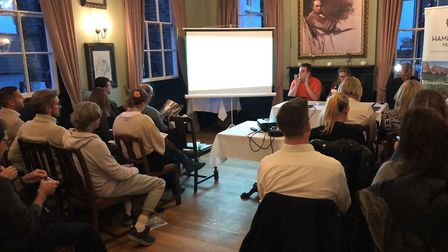 Hampstead BID's AGM at the Hollybush pub in Holly Mount. Picture: Hampstead BID