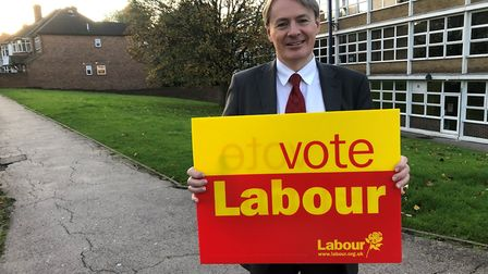 Ross Houston, the Labour candidate for Finchley and Golders Green. Picture: Barnet Labour