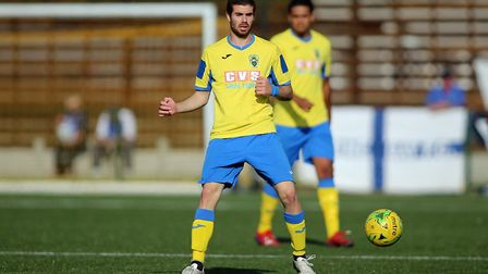 Greek Cypriot international Georgios Aresti of Haringey Borough. Picture: George Phillipou/TGS Photo