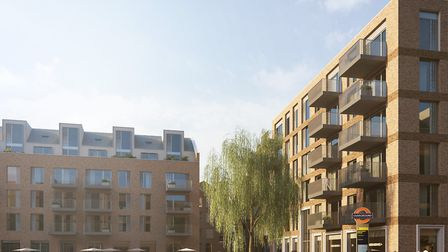 An artist's impression of the homes in Wallis Road. Picture: Hackney Council