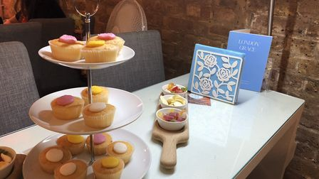With a kids party you get cup cakes, sandwiches and juice provided. Picture: Emma Bartholomew