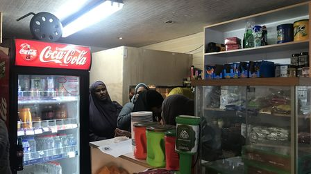 Dalston shop-turned-community-centre is too small for the growing numbers of women using services pr