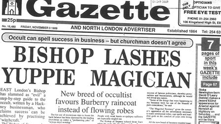 The Gazette 30 years ago