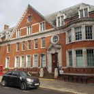 This former Hamstead police station could become home to Abacus Belsize. Picture: HARRY TAYLOR