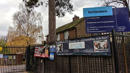 Fortismere School. Picture: Sam Volpe