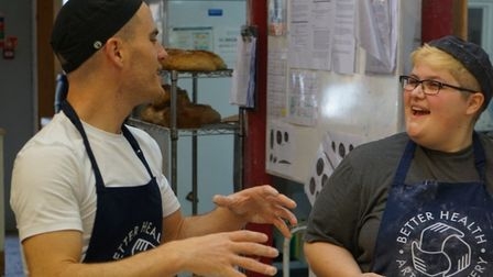 The bakery offers training placements to adults struggling with mental ill-health.