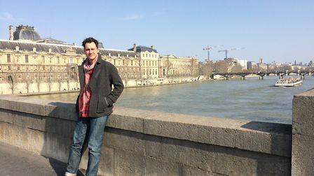 Mark Foster in Paris before the accident. Picture: Mark Foster