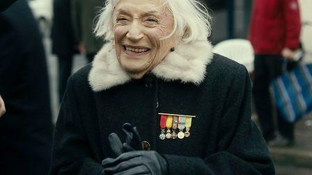 100 year old Marthe Cohn, the subject of documentary Chichinette, The Accidental Spy