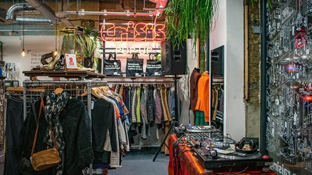 The new Crisis pop-up shop in Dalston. Picture: Crisis