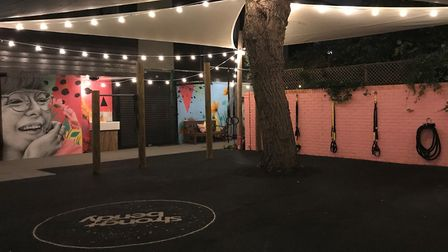 The venue features an exercise garden. Picture: Supplied