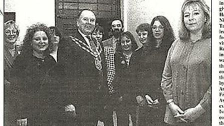 One of the first medical exchanges in 1994. Nurse Terri Porrit (left) is now a visiting lecture at R