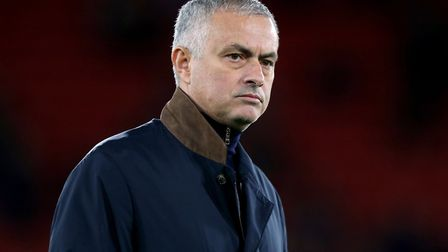 Jose Mourinho is the new manager at Tottenham Hotspur (pic Andrew Matthews/PA)