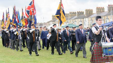 Last year's Armed Forces Day event on Royal Green in Lowestoft. Picture: Denise Brady Photography.