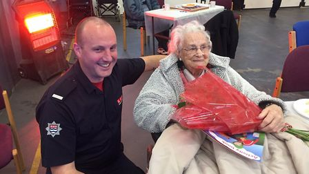 The firefighters hope to hold more events at the station to tackle loneliness in the area and bring