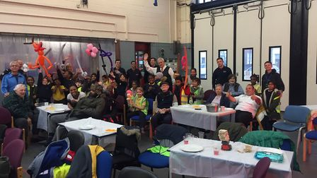 Homerton Fire Station community event. Picture: Andy Maloney