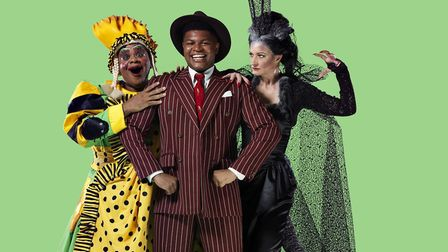 Callender stars alongside Clive Rowe and Annette McLaughlin. Picture: Mr Perou.