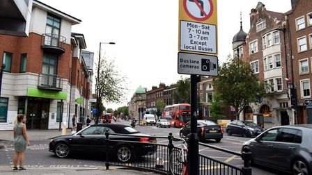 A ban on left turns from Richmond Road from Mare Street came into force last summer. Picture: Polly