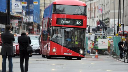 10,881 people were fined for driving in bus lanes in Hackney. Picture: Anthony Devlin