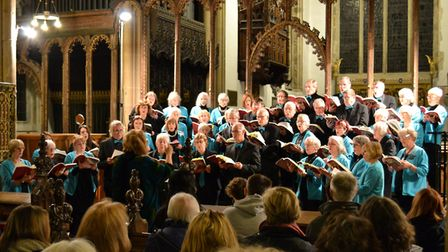 Pakefield Singers during a previous performance in St Edmund's Church in November 2016. Picture: Pak