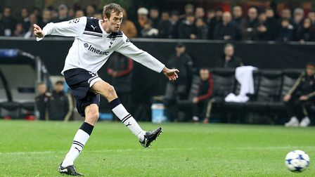 Peter Crouch during his time at Tottenham Hotspur (Pic: Nick Potts/PA)
