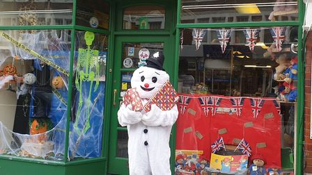 Staff from Fagin's Toy Shop in Muswell Hill even dressed up to support the Met's Christmas appeal. P