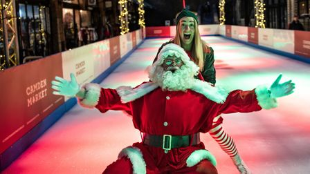 Camden Market boasts a 25 metre long rink in the North Yard