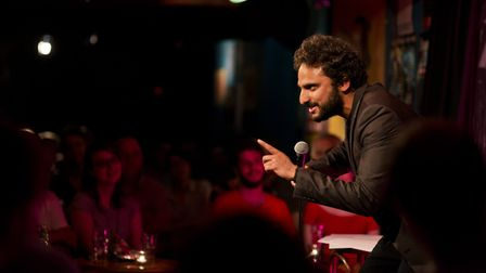 Nish Kumar headlined the first of three Comedy Against Living Miserably shows last week. Picture: Su