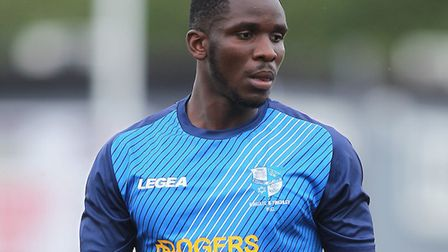 Olu Oluwatimilehin of Wingate and Finchley. Picture: George Phillipou/TGS Photo