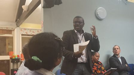 Dr Jide Morakinyo, consultant psychiatrist from Brent ward. Picture: Holly Chant