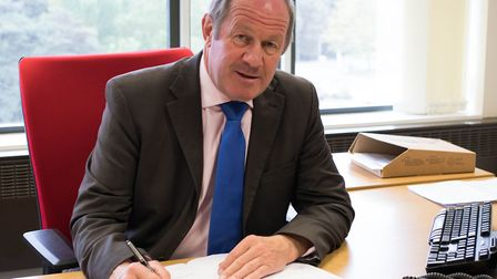 Tim Passmore, Suffolk's Police and Crime Commissioner. Picture: Courtesy of Suffolk PCC.