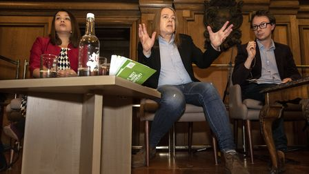 Ham & High's Hampstead and Kilburn Hustings at UCS Frognal on 02.12.19. Green Party candidate David