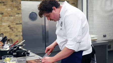 Yann, 30, began his training to become a chef at the age of 14. Picture: Supplied.