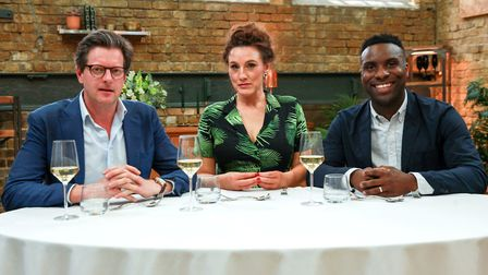 Yann cooked for critics William Sitwell, Grace Dent and Jimi Famurewa in the show. Picture: Supplied