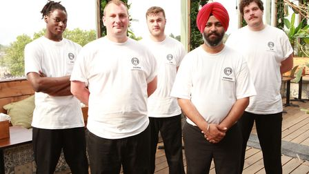 Five of the chefs vying to become MasterChef: The Professionals champion. Picture: Supplied.