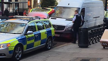 There was a police chase through Hampstead Village. Picture: Hampstead Village Voice
