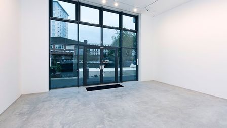 Hang-Up Gallery is located next to Regent's Canal. Picture: Supplied.