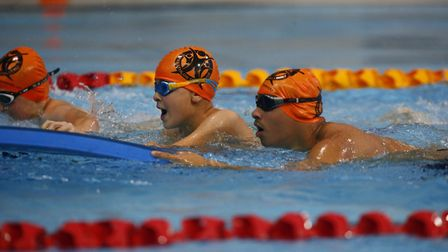 Stormont House pupils have won the National Special Schools swimming competition. Picture: Panathlon