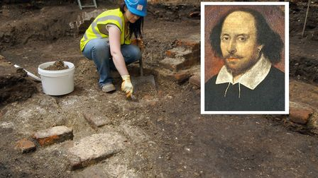 Archaeologists excavated Shakespeare's Curtain Theatre. Picture: Museum of London Archaeology