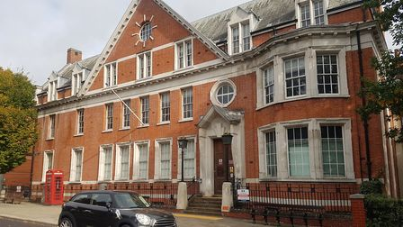 The former Hampstead police station which Abacus Primary School want to turn into a school. Picture