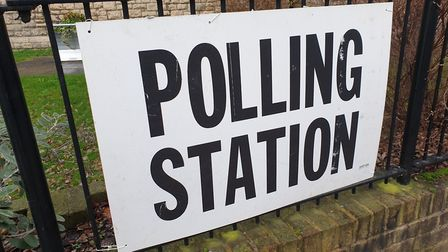 A polling station in Finchley and Golders Green. Picture: Harry Taylor