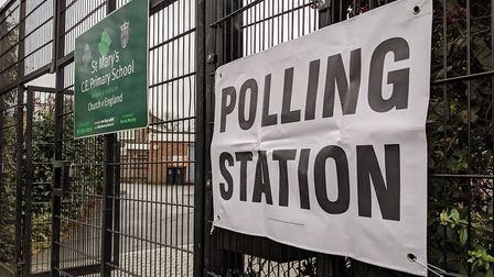 Polling opened at 7am in Hornsey and Wood Green for the 2019 General Election. Picture: Sam Volpe