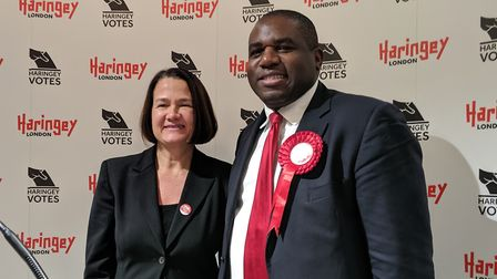 Catherine West and David Lammy, who both held Haringey seats. Picture: Sam Volpe